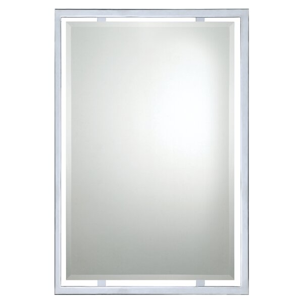 Dawson Rectangle Mirror by Beachcrest Home