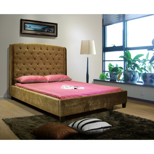 Chantell Queen Upholstered Standard Bed by Winston Porter