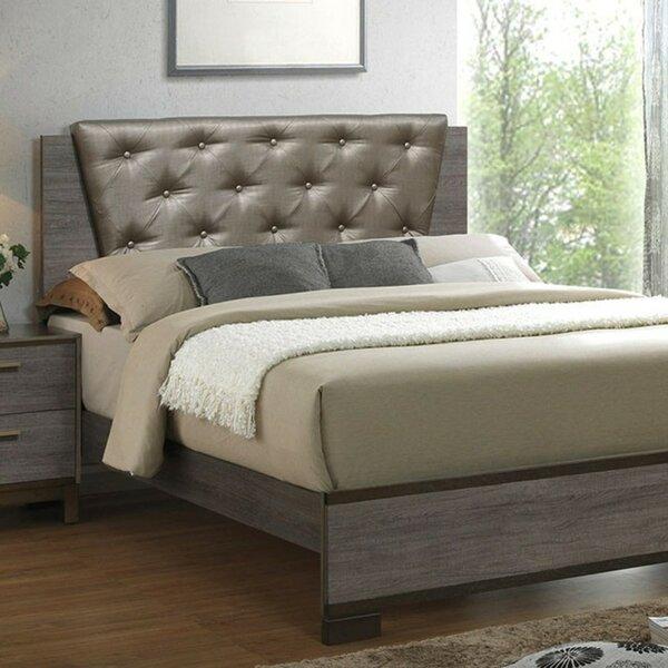 Grigori Upholstered Platform Bed by Wrought Studio