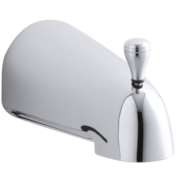 Devonshire Raphael 4-7/16 Diverter Bath Spout with Slip-Fit Connection by Kohler
