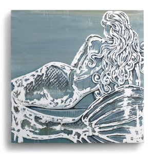 Beyond the Shore 'Mermaid' Canvas Painting Print on Wrapped Canvas by DEMDACO