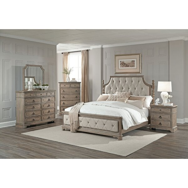 Pennington Standard 5 Piece Bedroom Set by One Allium Way