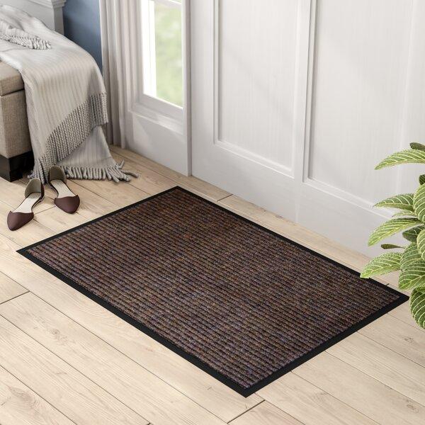 Hastings Rectangular Indoor Ribbed Entrance Doormat by Red Barrel Studio