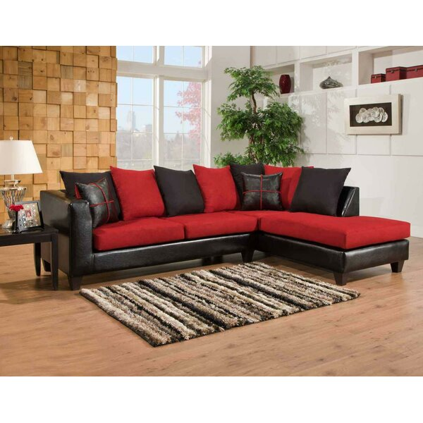 Best Reviews Mu Right Hand Facing Sectional by Chelsea Home by Chelsea Home
