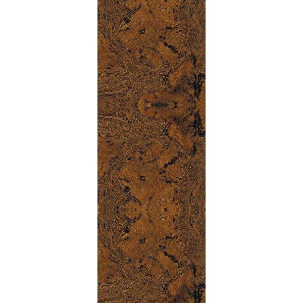 12 Swirl Tiles Cork Flooring in Fudge by Albero Valley