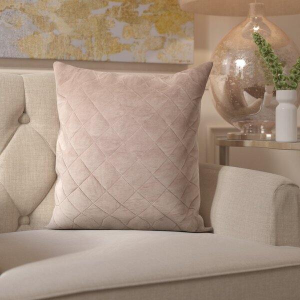 Mcfarland Quilt Throw Pillow by Willa Arlo Interiors