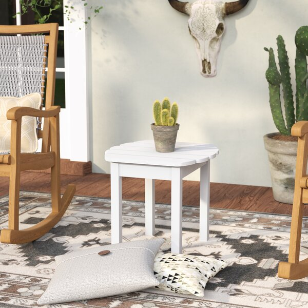 Edgell Solid Wood Side Table By Andover Mills by Andover Mills Wonderful