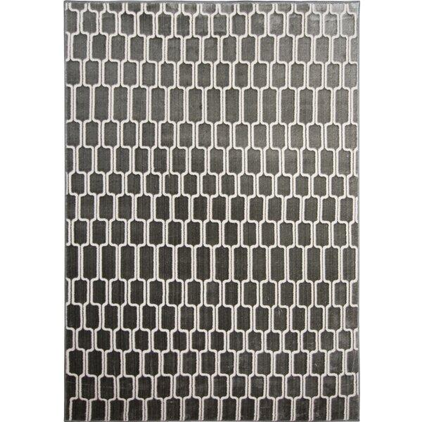 Hensley Gray/Ivory Area Rug by Orren Ellis