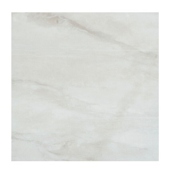 Pearl 12 x 12 Porcelain Field Tile in Silver by Casa Classica