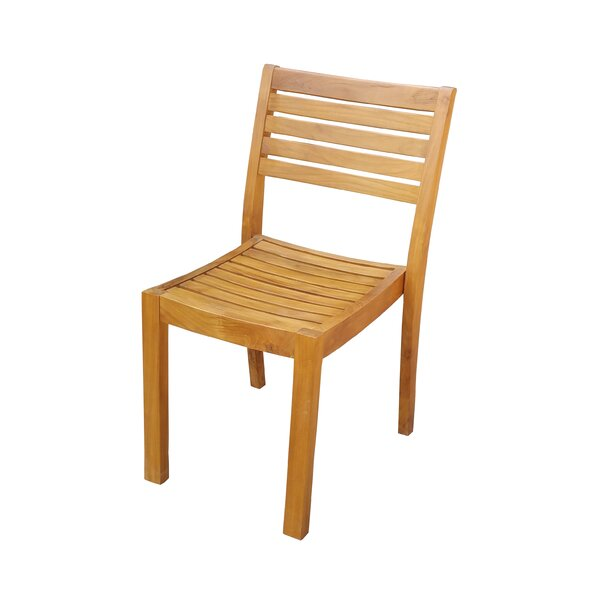 Cargo Solid Wood Dining Chair (Set of 6) by Loon Peak