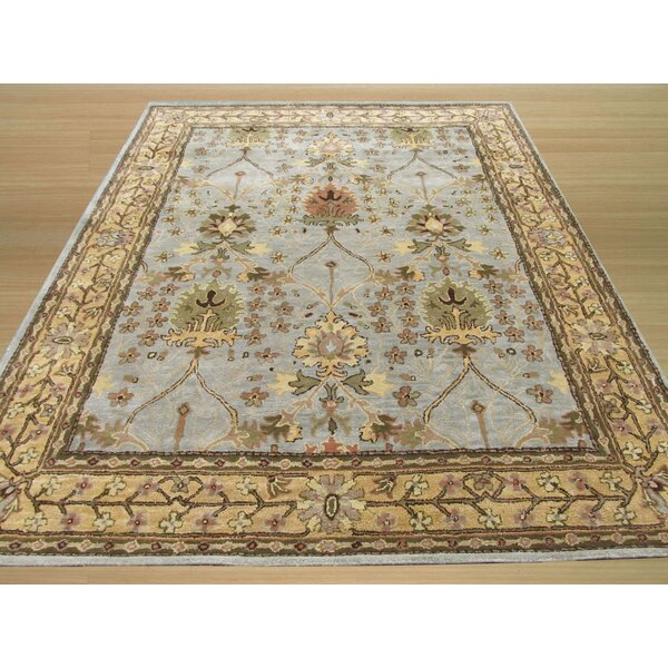 Marcola Hand-Tufted Blue Area Rug by The Conestoga Trading Co.