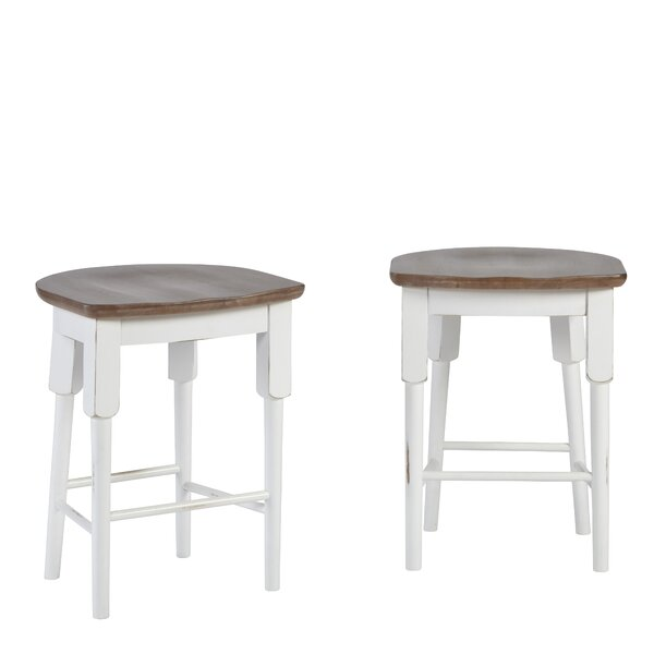Galliano Counter Height 24 Bar Stool by Rosecliff Heights