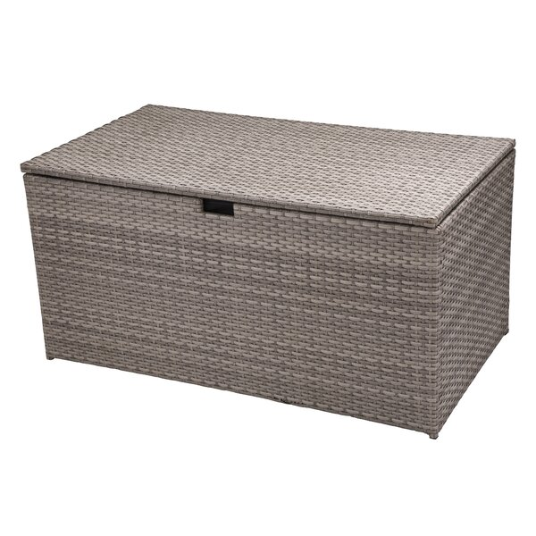 140 Gallon Wicker Deck Box by Glitzhome Glitzhome