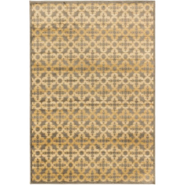 Santos Gray/Brown Area Rug by World Menagerie