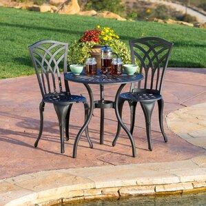 Garden Furniture Lebanon metal patio dining sets you'll love | wayfair
