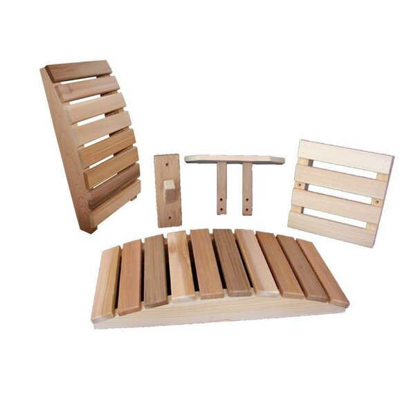 5 Piece Accessory Kit by Almost Heaven Saunas LLC