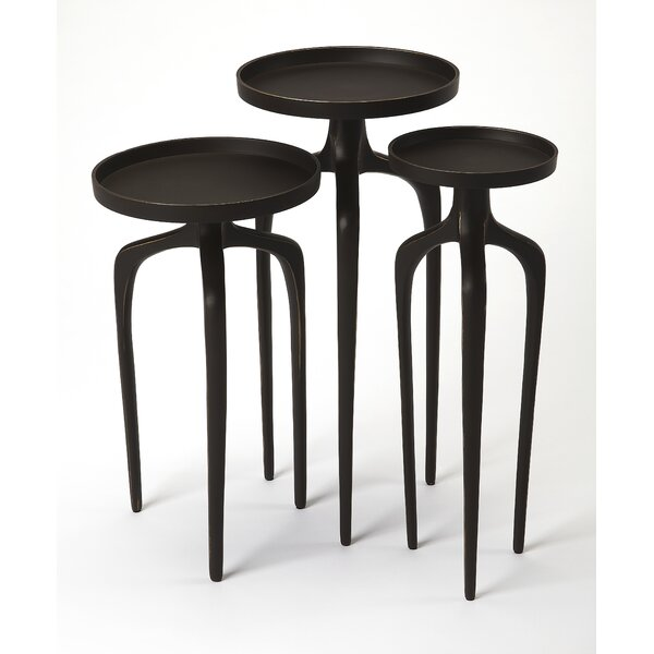 Minix 3 Piece Nesting Tables by Brayden Studio