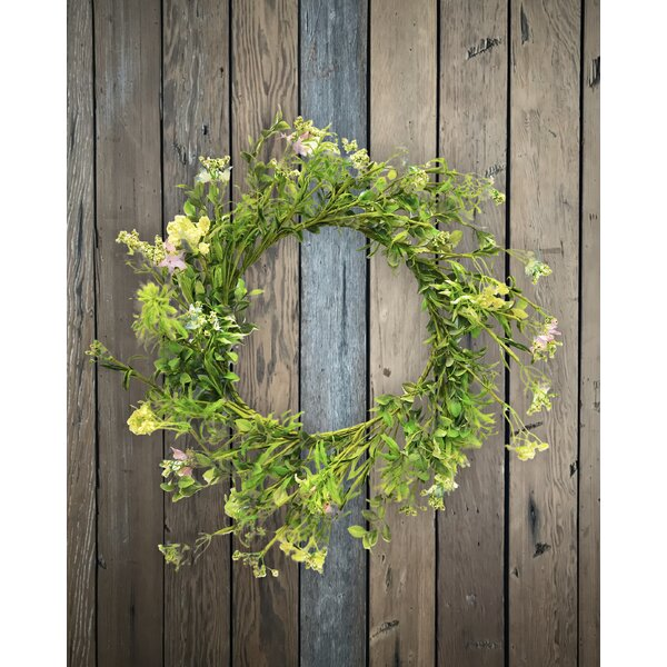 24 Blossom and Seed Wreath by August Grove