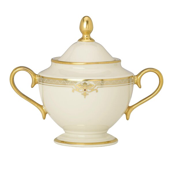 Republic Sugar Bowl with Lid by Lenox