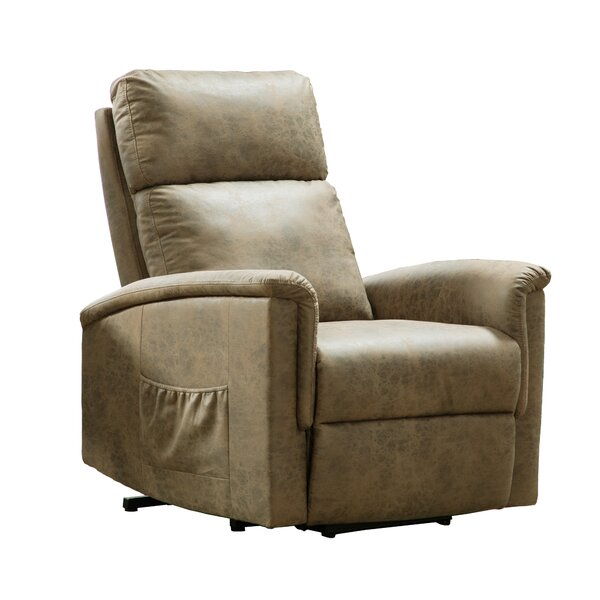 Barona Faux Leather Power Lift Assist Recliner W003460346