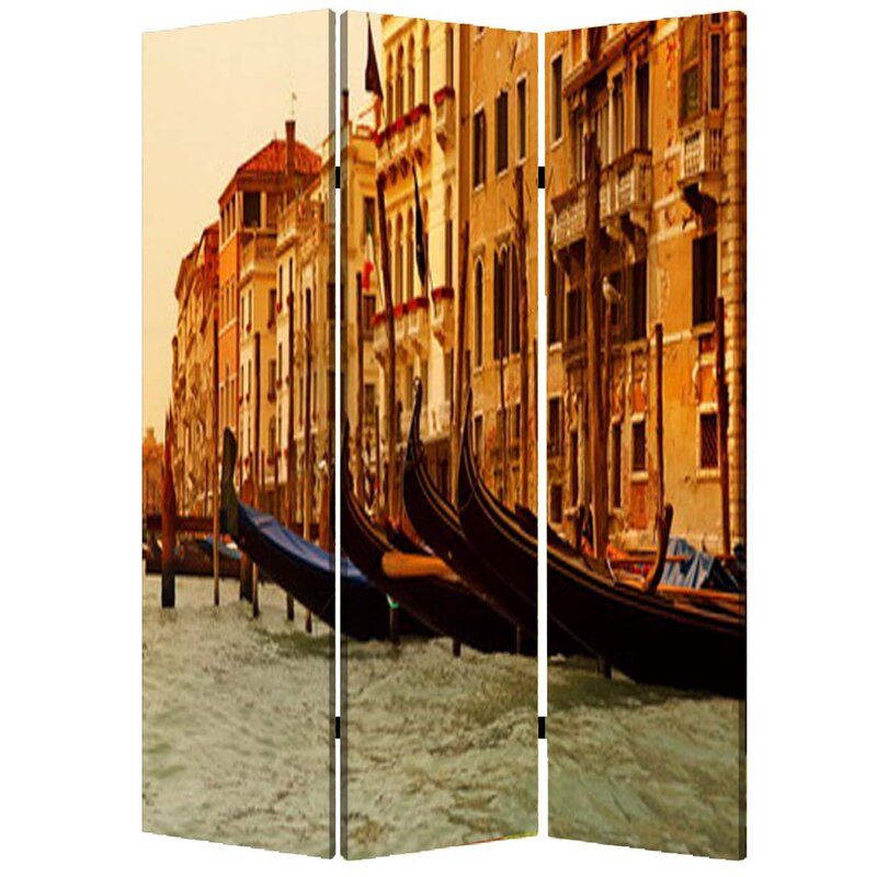 "72"" x 48"" Venice 3 Panel Room Divider"