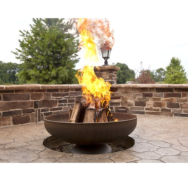 Steel Fire Pit by Ohio Flame