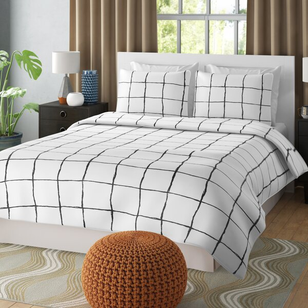 Bodiford Reversible Duvet Set by Wrought Studio