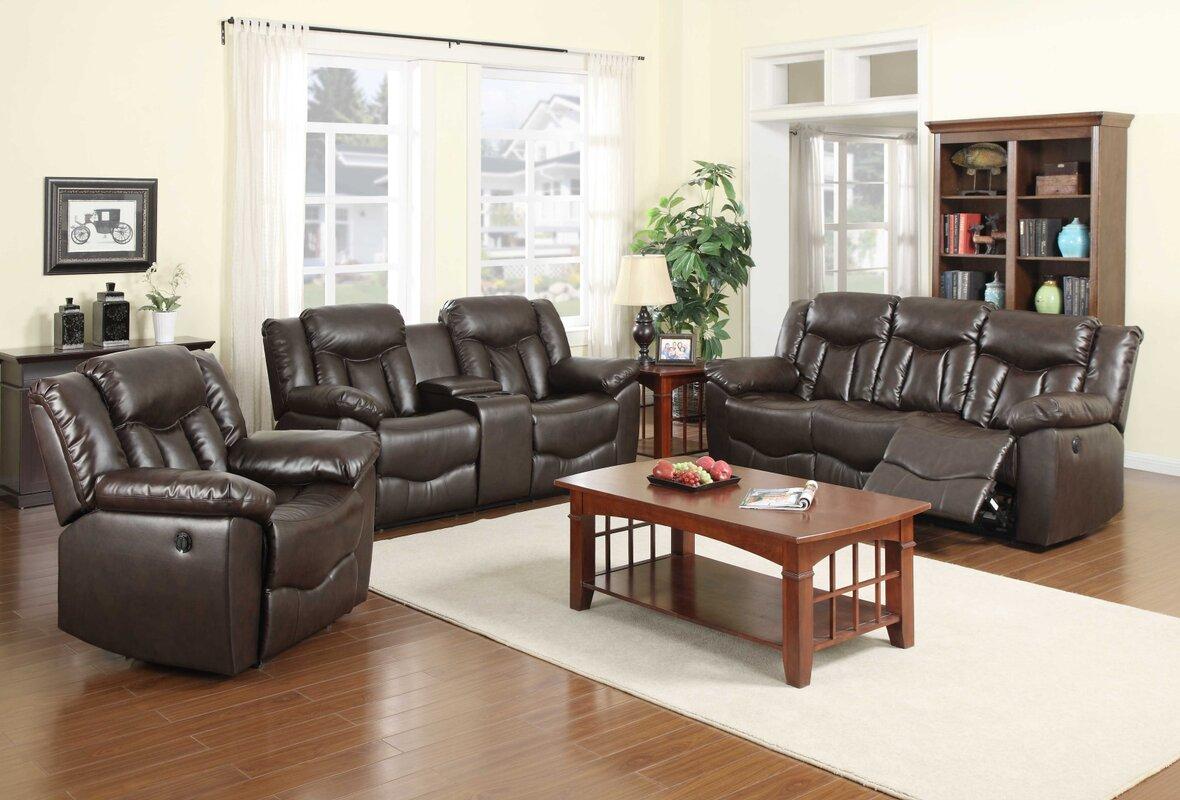 Nathanielhome James 3 Piece Living Room Set Reviews