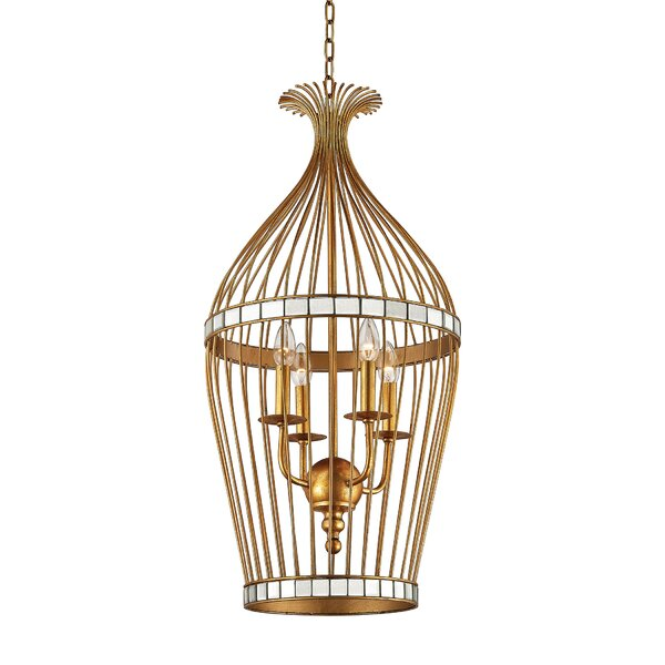 Ansonia 1-Light Foyer Pendant by Bay Isle Home