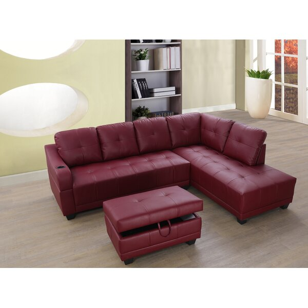 Get New Botkin Sectional with Ottoman by Red Barrel Studio by Red Barrel Studio
