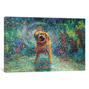 Iris Scott - Shakin' Jake Painting Print on Wrapped Canvas by Red Barrel Studio