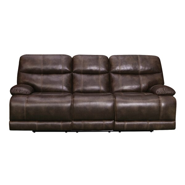 Rosenbloom Reclining Sofa by Charlton Home