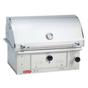 Bison Built-In Charcoal Grill