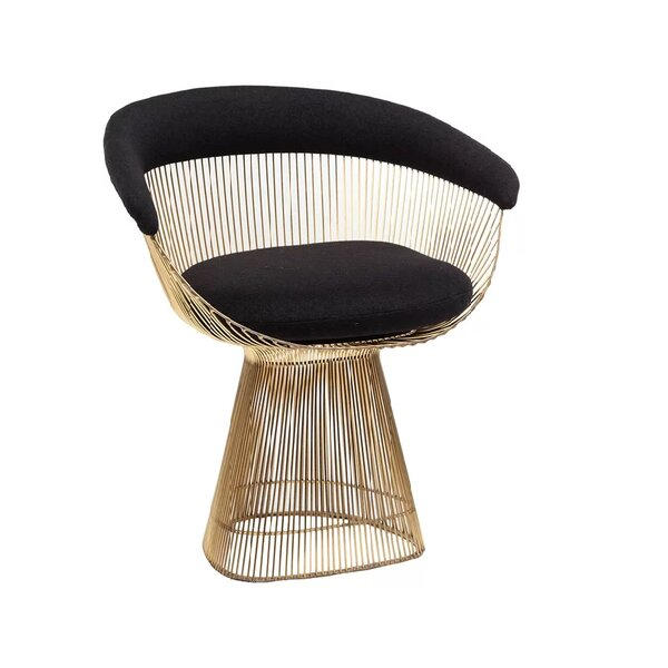 Cataleya Upholstered Dining Chair by Everly Quinn