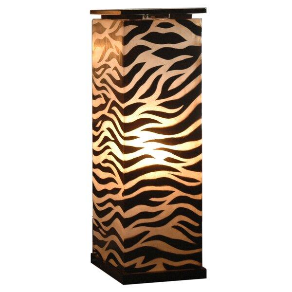 Maha Medium Pedestal 31 Column Floor Lamp by Jeffan