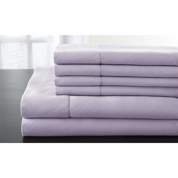 Solid 1200 Thread Count Sheet Set by Alwyn Home