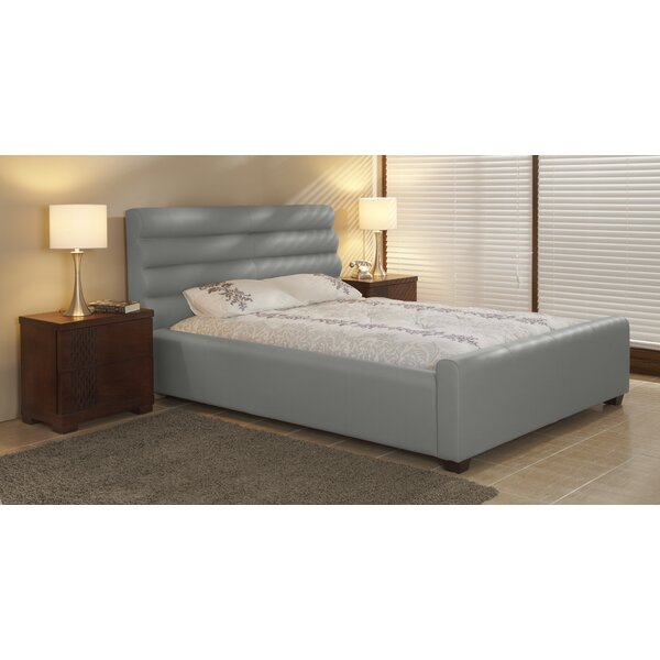 Best Choices Upholstered Platform Bed By Lind Furniture Savings