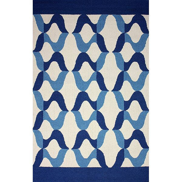 Novel Aldo Blue Indoor/Outdoor Area Rug by nuLOOM