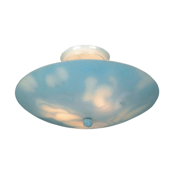 KidShine 3-Light Semi-Flush Mount by Landmark Lighting