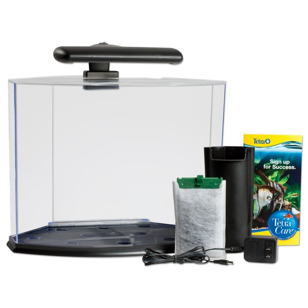 5 Gallon Crescent Aquarium Kit by Tetra