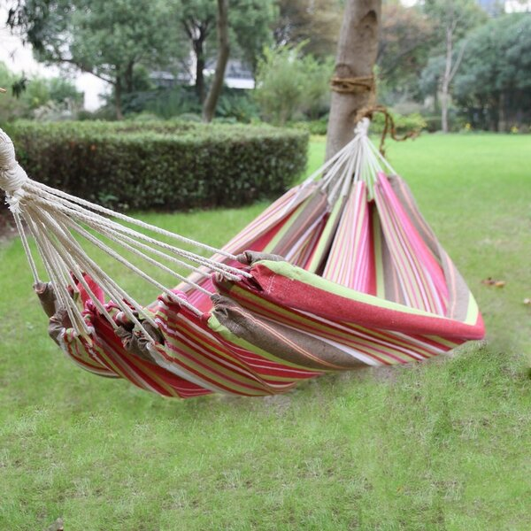 Medina Cotton Fabric Canvas Tree Hammock by Red Barrel Studio