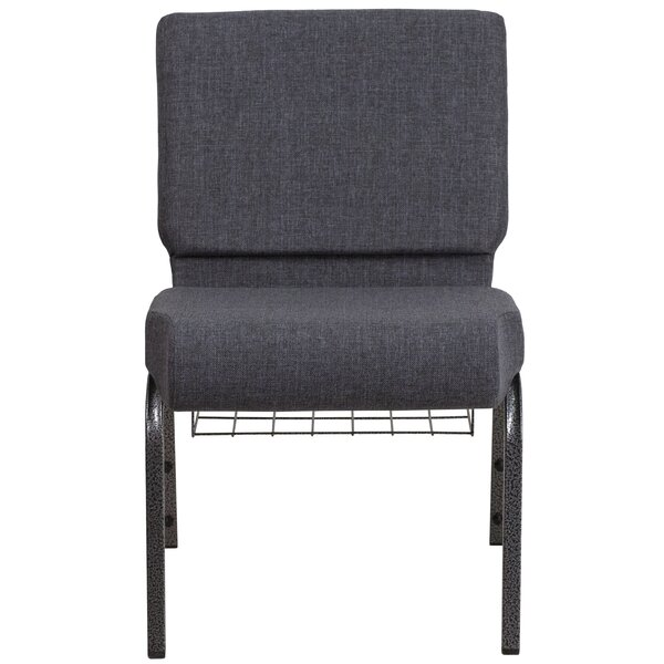MacArthur Contemporary Dark Gray Guest Chair by Ebern Designs