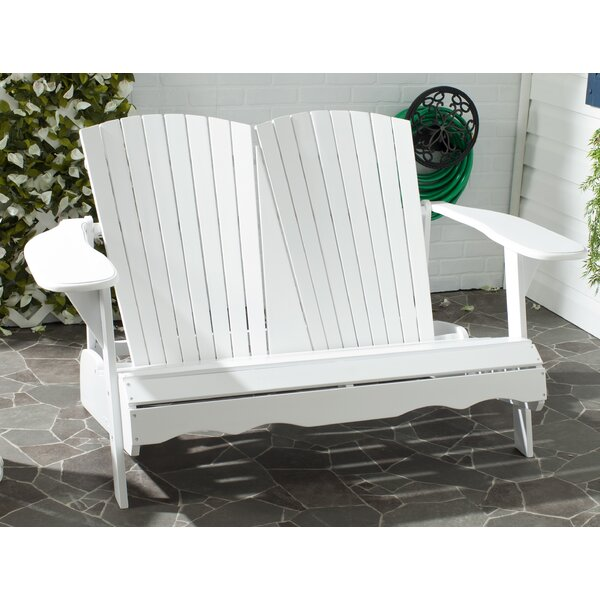 Hartnell Wooden Garden Bench by Rosecliff Heights Rosecliff Heights