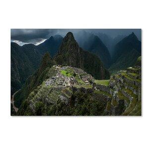 'Machu Picchu Peru' Photographic Print on Wrapped Canvas by Trademark Fine Art