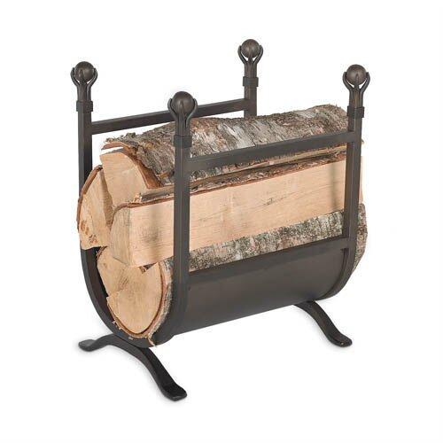 Ball Log Rack By Pilgrim Hearth