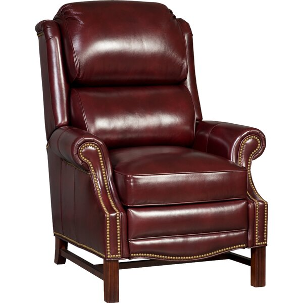 Alta Leather Power Recliner By Bradington-Young