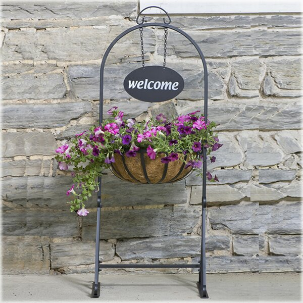 Hanging Basket Plant Stand by CobraCo