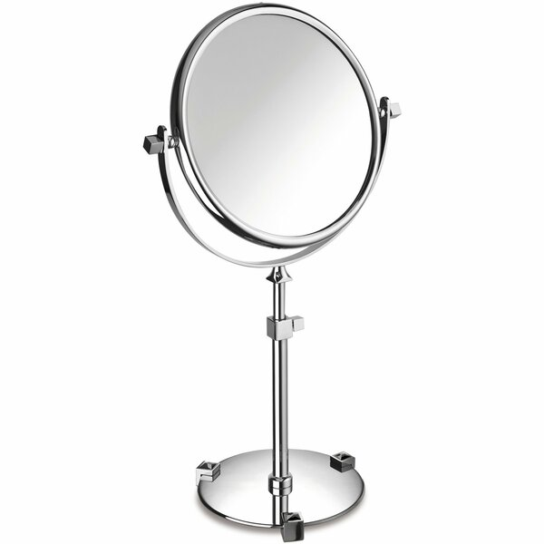 Lanz Circular Makeup/Shaving Mirror by Everly Quinn