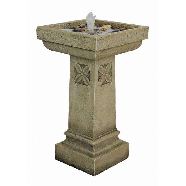 Resin Garden Column Fountain by Wildon Home ®