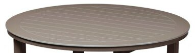 Marine Grade Polymer 42 Round Chat Table by Telescope Casual